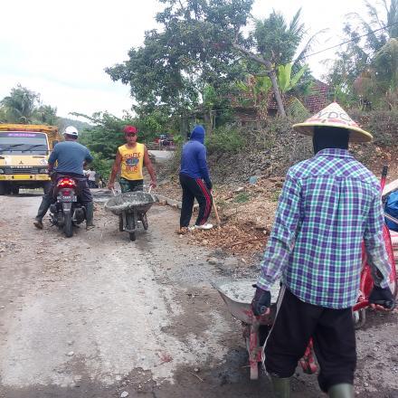 pembangunan jalan selama 2019